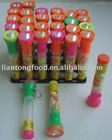 toy candy with electric torch