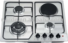 4 burners built-in gas stove