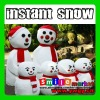 New arrival novelty Non-toxic polymer instant snow for christmas decoration