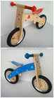 2012 newest wooden balance bike inflatable tyre
