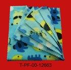 100% polyester polar fleece fabric with animal print for garment