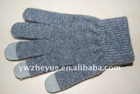 wool glove for touch screen