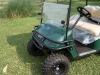 Golf cart brush guard for E-Z-Go