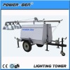 POWER-GEN 4x1000W mobile lighting tower