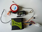 Two way anti theft motorcycle alarm system