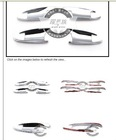 Chrome Door Handle Cover Bowl Fit For Mercedes Benz X204 GLK GLK300 GLK350 C Class W204