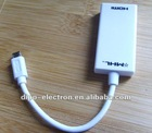 1.5m samsung galaxy s ii mhl to hdmi tv-out adapter