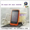 Fashion 3.8 inch Android dual card dual standby smart Android phone