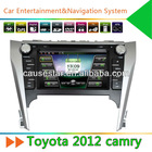 Cheap Double Din 8'' 2012 Toyota Camry Car DVD with GPS,Radio,Bluetooth
