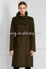 FUNNEL-COLLAR COAT