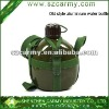 High quality capacity 1L alluminium classic military water bottle carrier