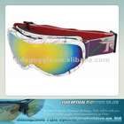 2012 new fashion anti-fog ski goggles with CE