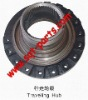 traveling wheel gear of excavator