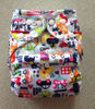 2012 New designed Minky baby bamboo cloth diaper