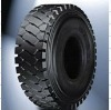 tires of truck earthmover
