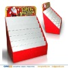 Christmas & New year promotion cardboard retail display shelf