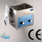 CE approved stainless steel digital ultrasonic cleaner