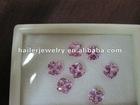 2# cushion pink sapphire