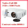 3LCD Native Full HD 1920x1080P Home Theater HD Projector