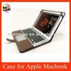 Leather Case For Apple Macbook Air 13'' inch,free shipping+wholesale,Brown color