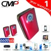 Newest high Quality mobile phone portable multi power bank charger with High Capacity