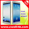 6 inch MTK6577 Dual Core Android 4.0 Mobile Phone MiniPad I9977
