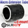 Macro Extension Tube Ring for SONY E-mount NEX-5 NEX-3