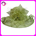 2012 classical ladies sinamay hat & church hats &wedding hat RQ-A691
