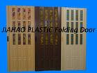 PS glass pvc folding door