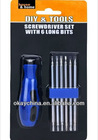 7 pcs mini screwdriver bit set precision tool set