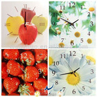 Decorative Fruit Kitchen Wall Clock