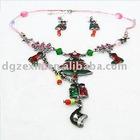 Colorful christmas jewelry set