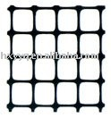 two-directional draw and extend plastic geogrid