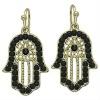 Hamsa hand Kabbalah Fatima hand OF Earrings
