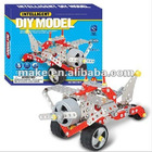 metal Intellectual Self-assemaly racing car---block toys