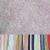 Imitation cotton 100% polyester terry fabric