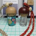 wholesale and retail stock japan style hanging car glass perfume bottle design