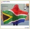 South Africa Body Flag for promotional campaigns