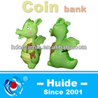 ceramic dargon shape money bank
