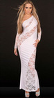 Stylish dressing gown On Cheongsam Style
