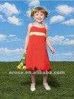 FG-077 Lovely Spaghetti Straps Flower Girl Dress Sewing Patterns