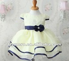 2012 Tiamero New Design Cap Sleeve Flower Girl Dress TB-020