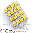 G4 AC/DC10-25V 2.1W Led light, square array led lamp