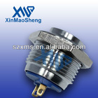 XM19-221P 19mm Momentary Metal button switch