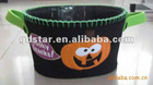 Decorative Halloween barrel/Halloween candy barrel