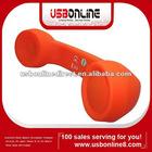 bluetooth Phone Handset Microphone Telephone Receiver for Apple iPhone 4G 3G 3Gs Mobile Phone Skype MSN(orange)
