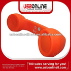 bluetooth Phone Handset Microphone Telephone Receiver for Apple iPhone 4G 3G 3Gs Mobile Phone Skype MSN(orange)