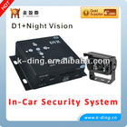1 CH Full D1 Resolution Manual Car Camera HD DVR With BNC Connector