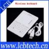 White 2.4 G Mini Wireless Handheld Keyboard