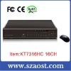 DVR standalone dvr 16channel model KT7316HC China supplier
